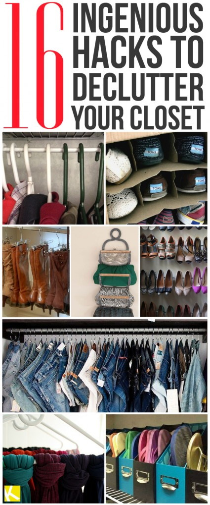 The best DIY projects & DIY ideas and tutorials: sewing, paper craft, DIY. Ideas About DIY Life Hacks & Crafts / How to properly organize your closet! Improve your life one hack at a time. Life Hacks, DIYs, tips, tricks and More. Start living life to the fullest!