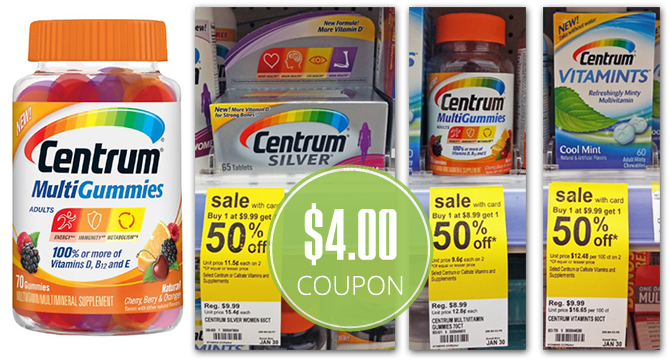 Centrum coupons july 2018