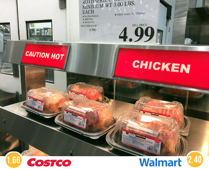 19 unbeatable deals you can only find at costco the for Costco rotisserie chicken ingredients
