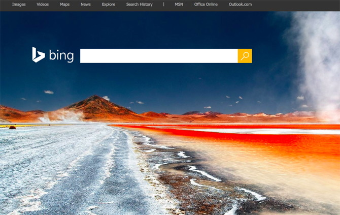 Earn extra money by using Bing Search Engine.