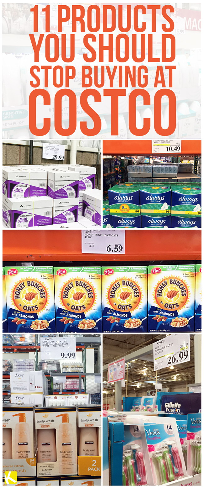 11 Products You Should Stop Buying at Costco