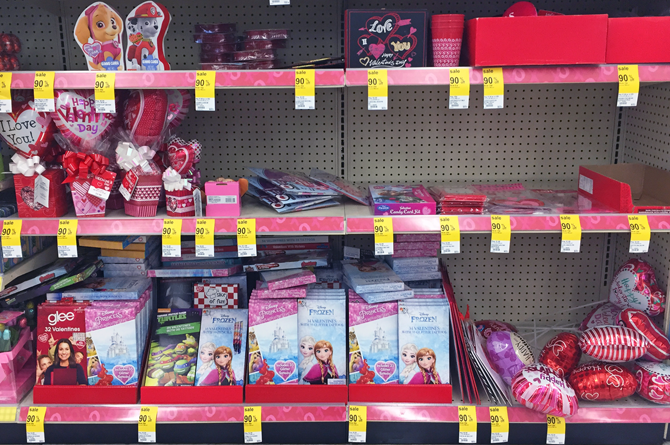 Valentine Clearance Is 90% Off At Walgreens!