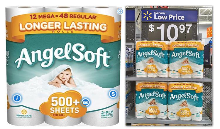 Cheap Angel Soft Mega Rolls at Walmart    The Krazy Coupon Lady. New Coupon  Cheap Angel Soft Mega Rolls at Walmart    The Krazy