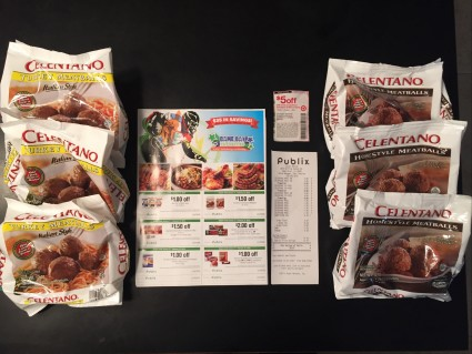 6 Bags Of Meatballs For .67 Cents at Publix!