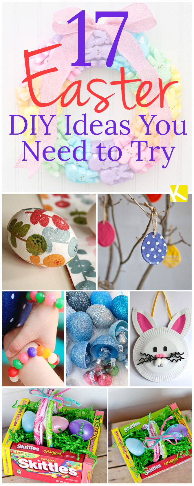 17 Easter DIY Ideas You Need to Try