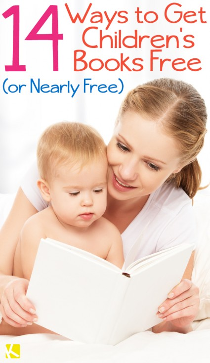 14 Ways to Get Free (and Really Cheap) Children's Books - The Krazy Coupon Lady