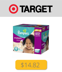 Pampers Box Target