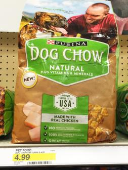 Coupon Reset! Purina Dog Chow, $2.50 at Target!