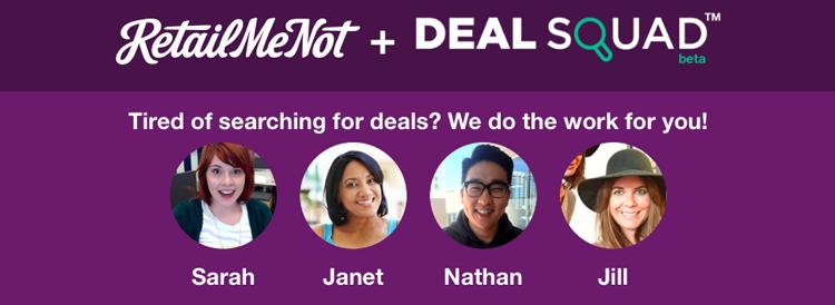 RetailMeNot Deal Squad
