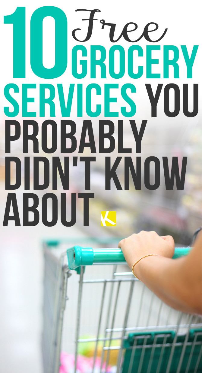 10 Free Supermarket Services You Probably Didn't Know About