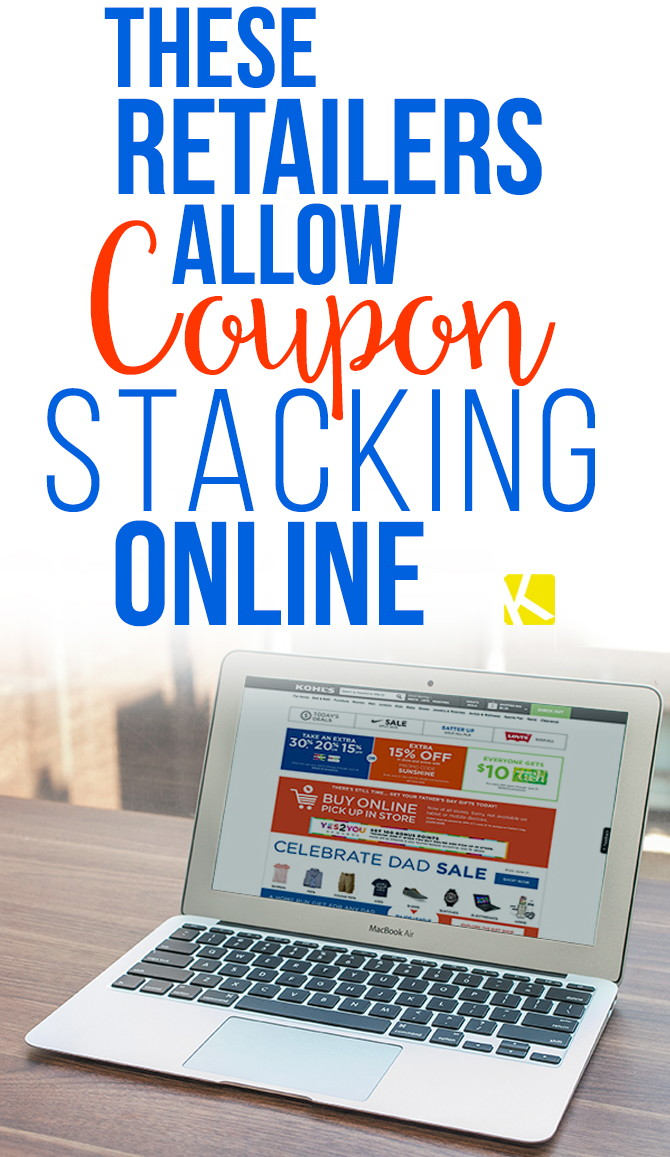 These Retailers Allow Coupon Stacking Online