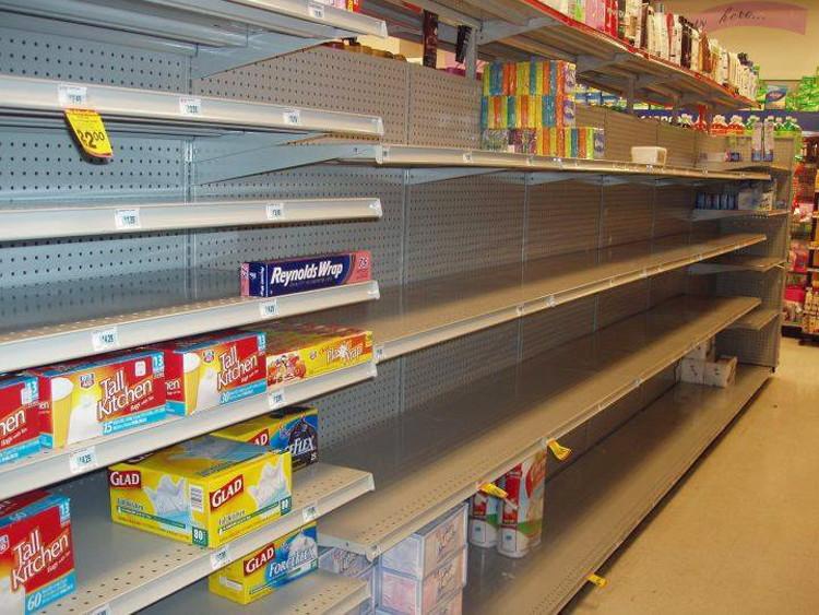 cleared-shelf