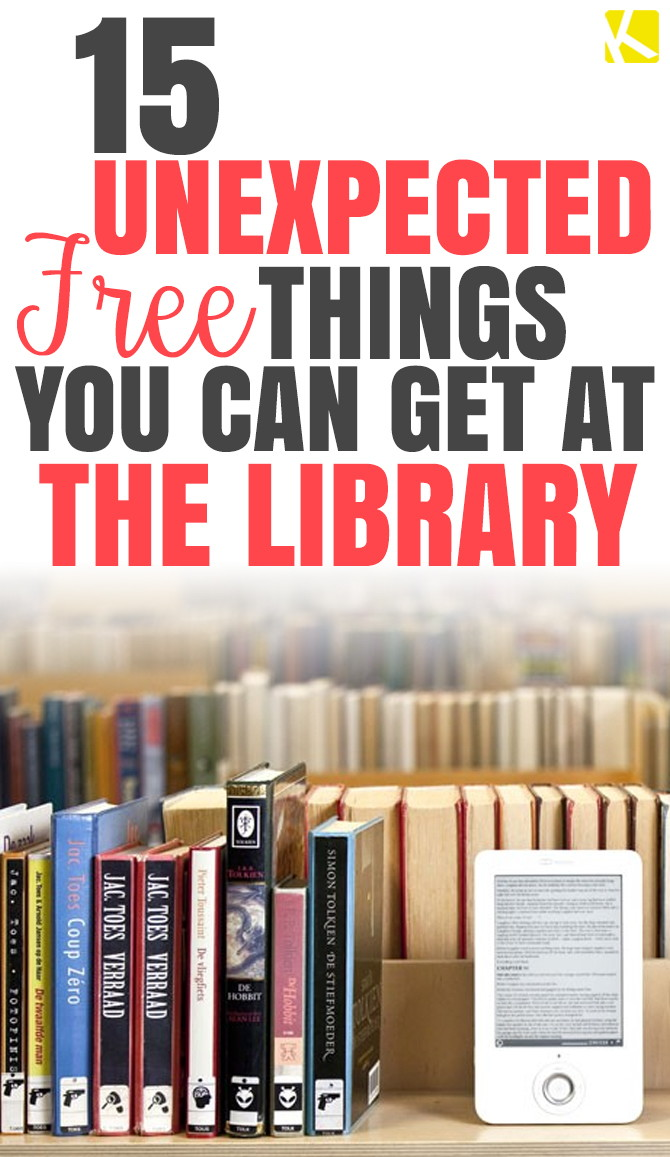 15 Unexpected Free Things You Can Get at the Library
