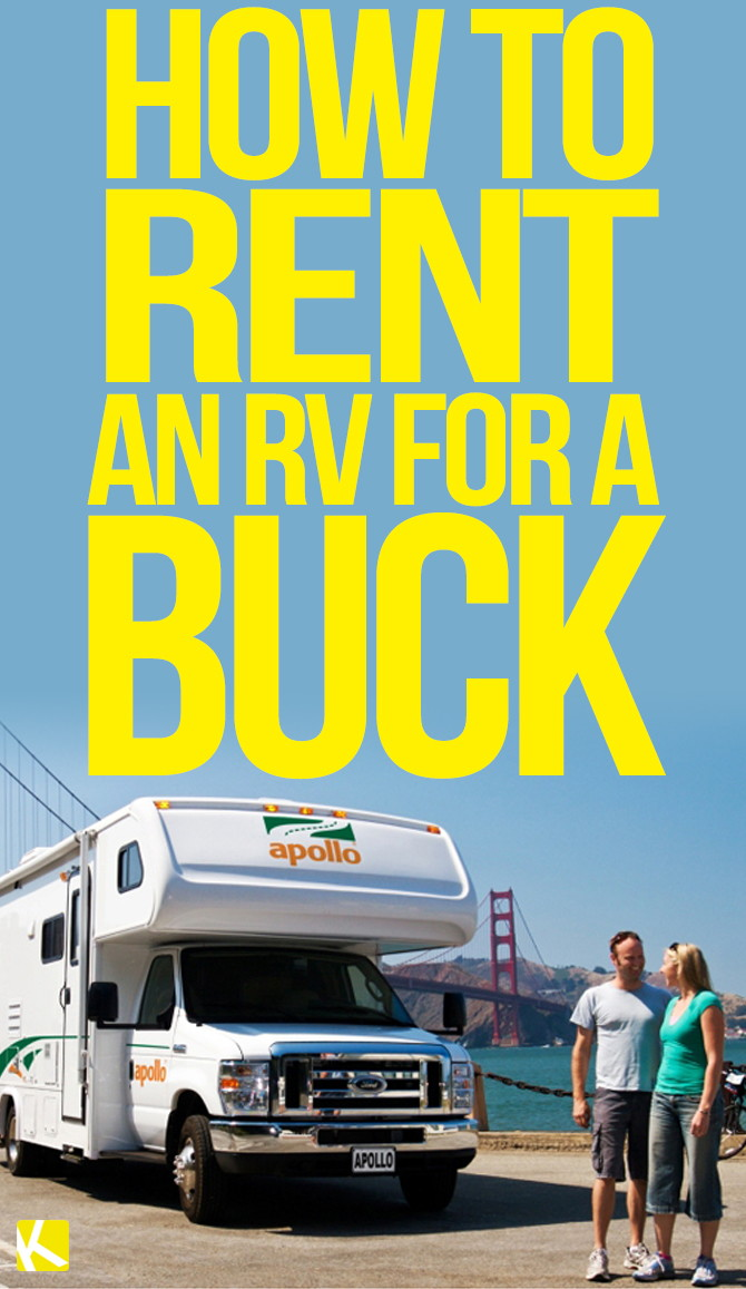How to Rent an RV for a Buck