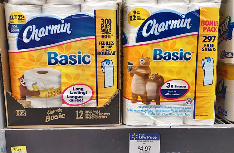 Charmin 12-Pack, Only $0.97 at Walmart! - The Krazy Coupon Lady