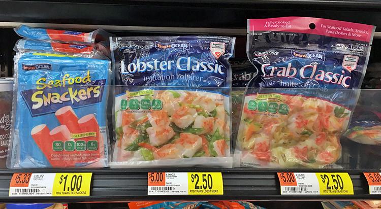 Moneymaker Seafood Snackers at Walmart!