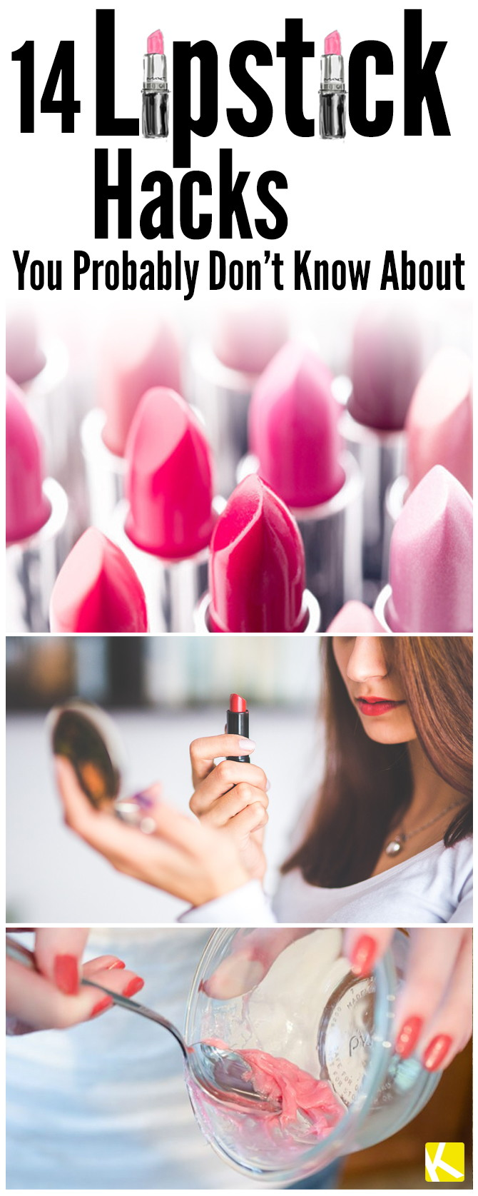 14 Fabulous Lipstick Hacks You Probably Didn't Know About