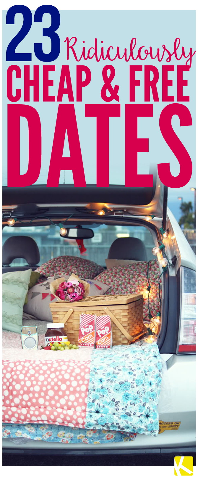 23 Ridiculously Cheap (and Free) Date Ideas