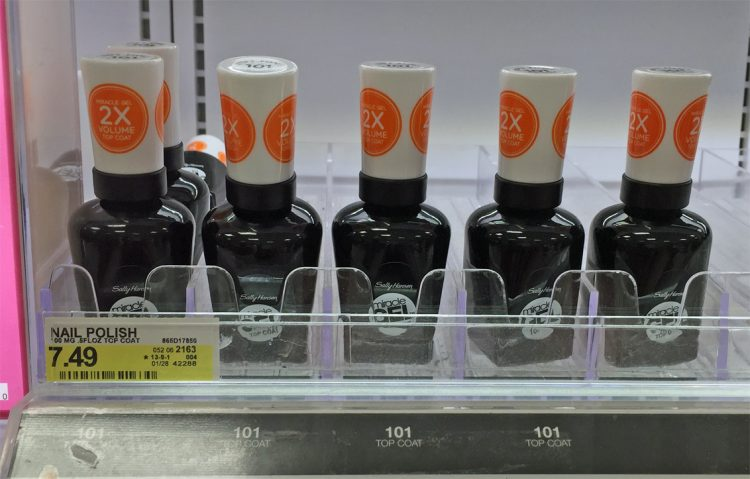 Sally Hansen Miracle Gel & Top Coat, $0.99 Each at Target! - The ...