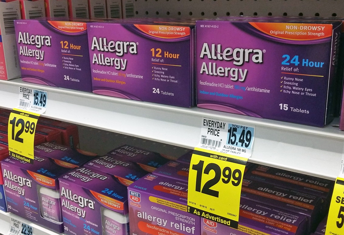 Allegra coupons december 2018