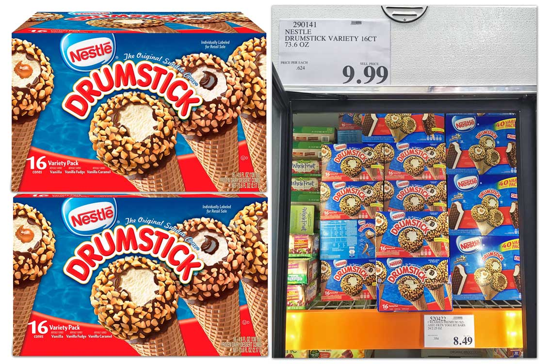 Nestle Drumstick 16 Count Variety Pack 5 99 At Costco