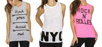Women's Printed Tanks, Only $4.00–Hurry!