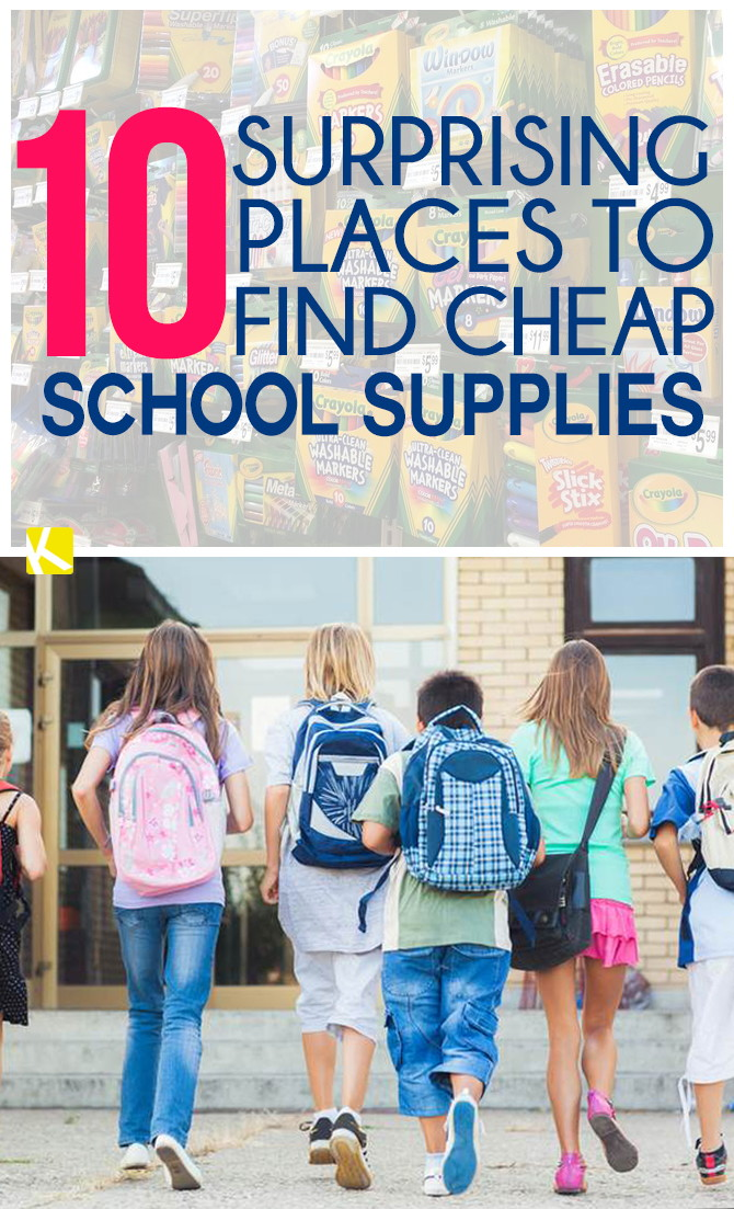 10 surprising places to find cheap school supplies the for Buy things for cheap