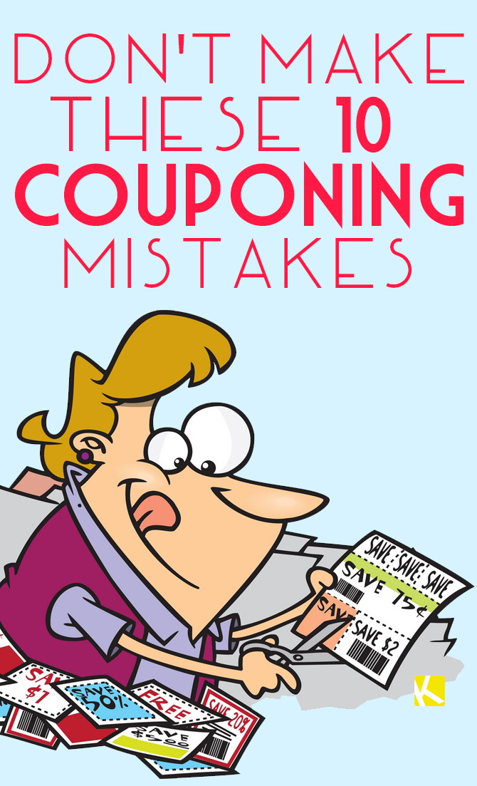 Are You Making These 10 Couponing Mistakes?