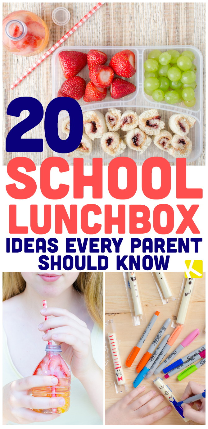 20 School Lunchbox Ideas Every Parent Should Know