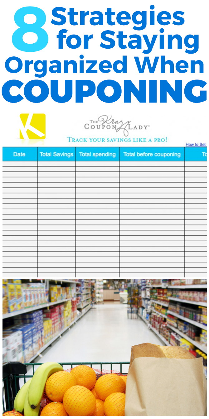 8 Strategies for Staying Organized When You Coupon