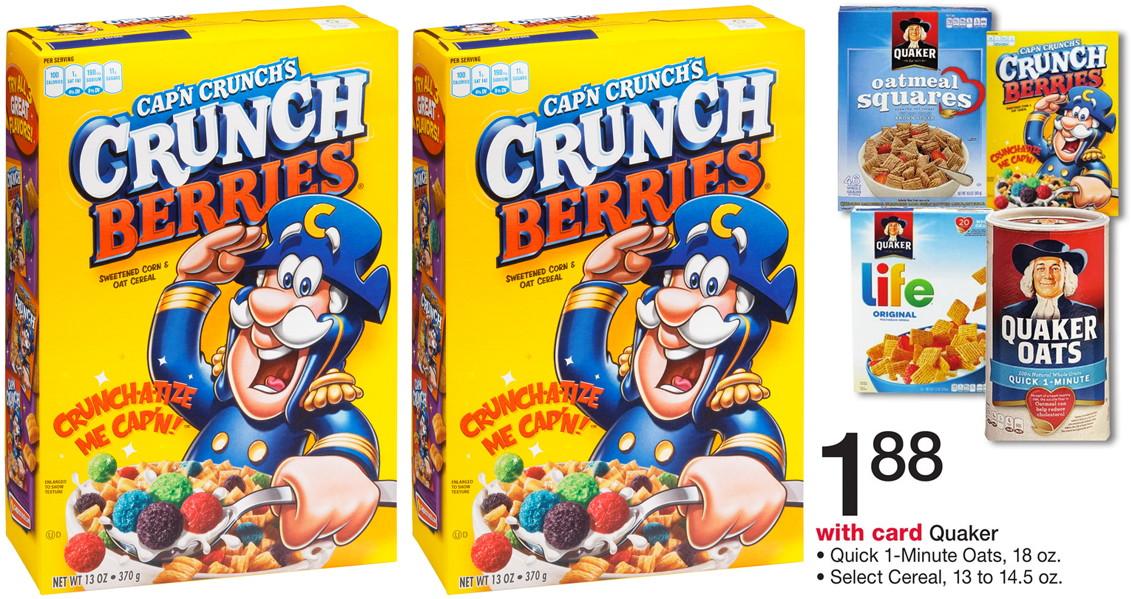 Cap'n crunch coupons printable 2018