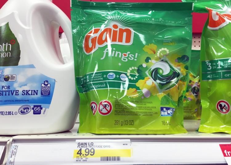 Gain Flings Target