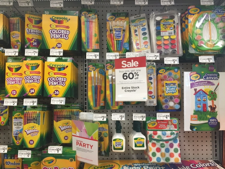 coupons make michaels and jo anns some of the best places to buy markers and paint supplies - Suplies