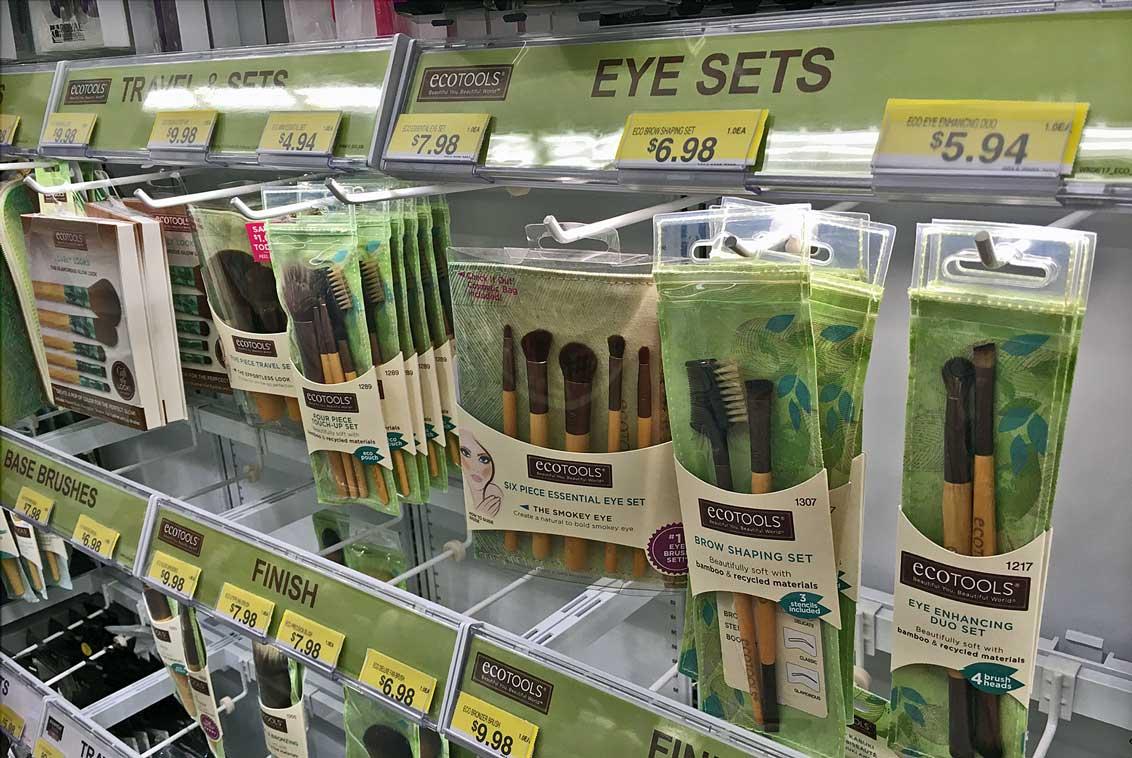 ecotools mini essentials makeup brush set at walmart. Black Bedroom Furniture Sets. Home Design Ideas