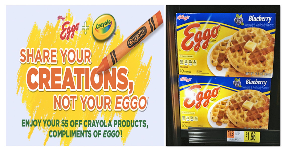 Eggo coupon august 2018