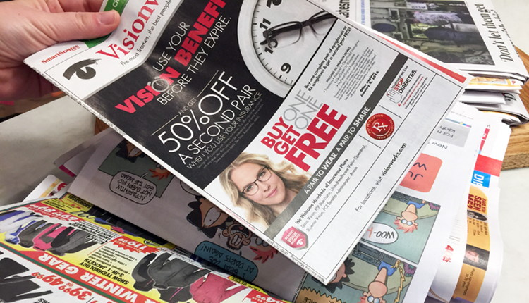 Ways To Get Free Sunday Newspaper Coupons  The Krazy Coupon Lady