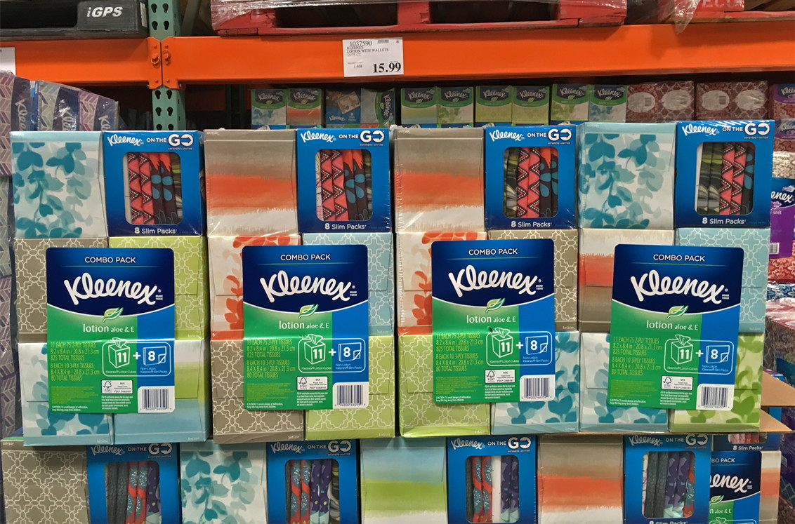 Back To School Deal Kleenex Only 1 03 Per Box At Costco