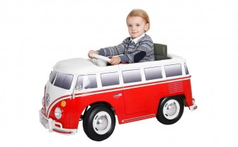 RollPlay VW Bus Ride-On, Only $90.00 Off–Only $109.00!