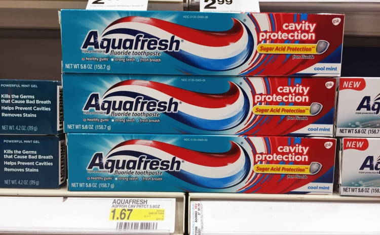 Aquafresh Target
