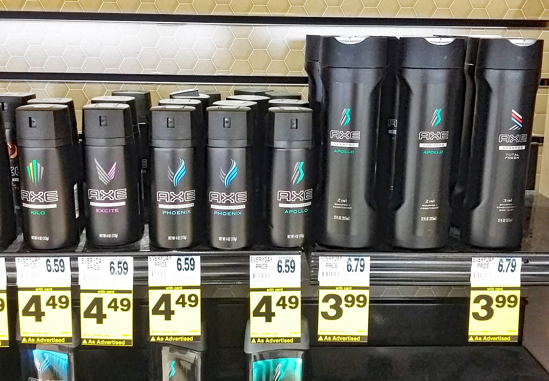 Free Axe Shampoo at Rite Aid!