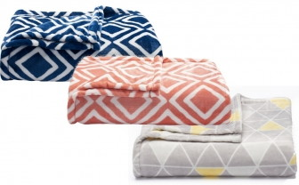 The Big One Super Soft Throw, as Low as $13.99 at Kohl's!
