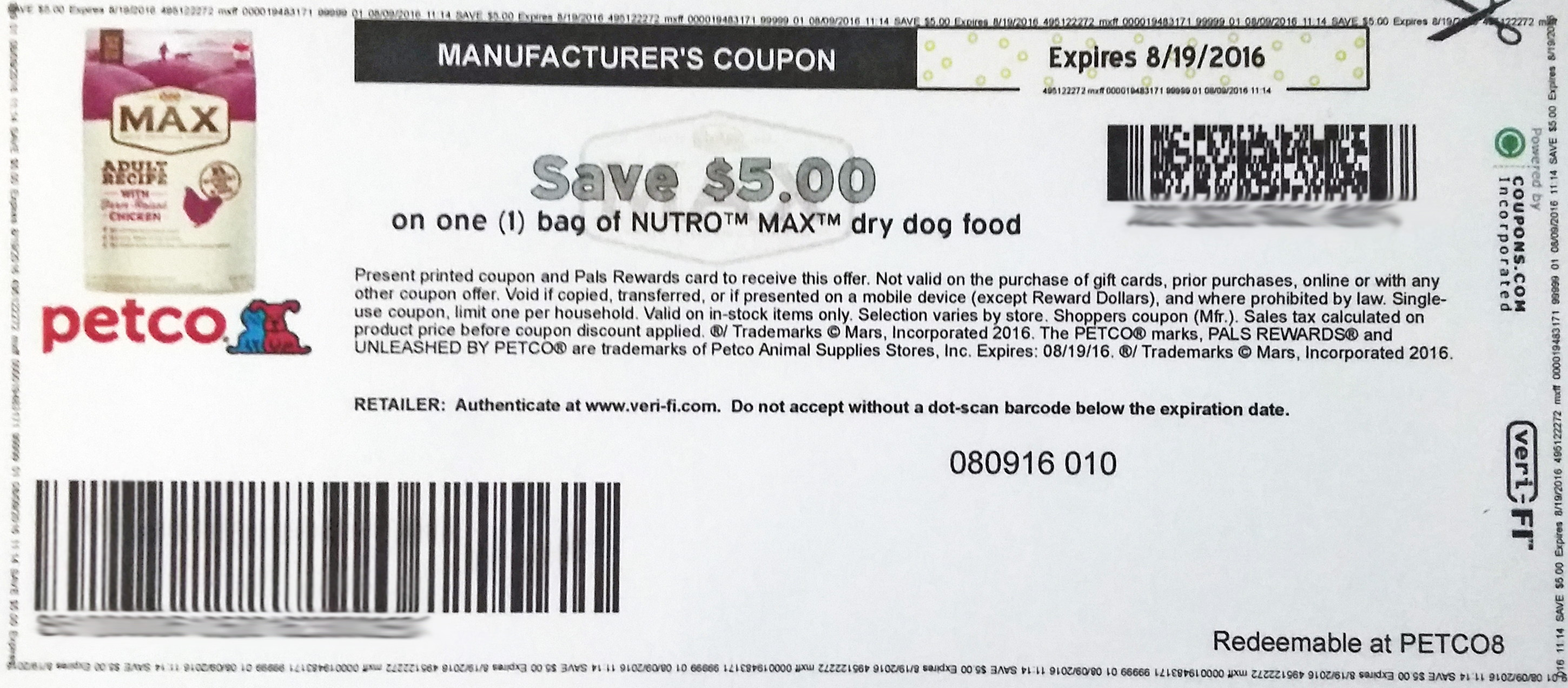 Grocery discount coupons