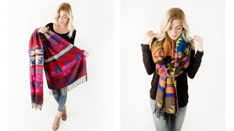 Aztec Blanket Scarf, Only $11.99 Shipped–Normally $19.95!