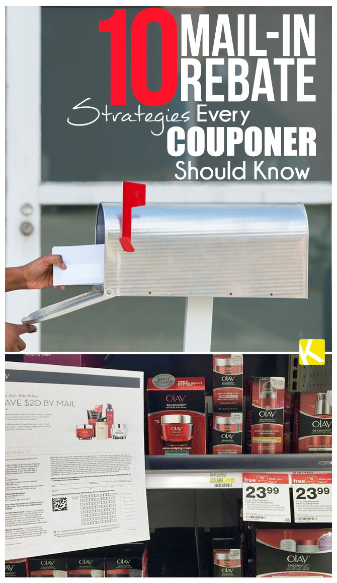 10 Mail-In Rebate Strategies Every Couponer Should Know