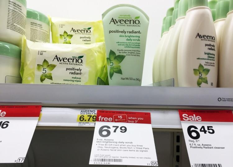 Aveeno Target