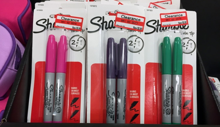 Clearance-Sharpie