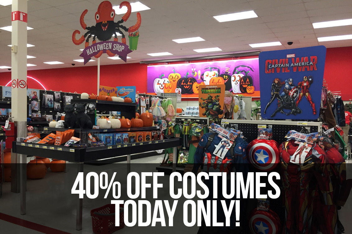 40  off halloween costumes at target