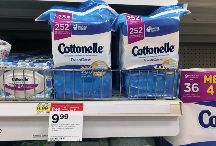 Cottonelle-Wipes-Target