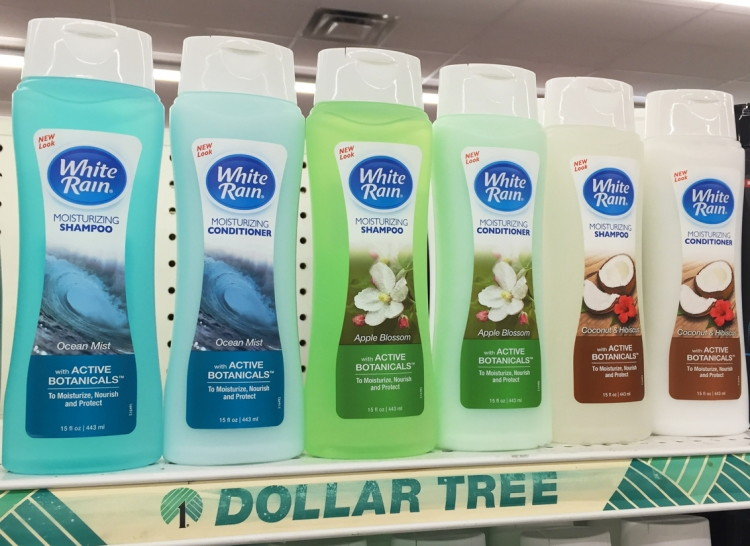 White Rain Hair Care Dollar Tree