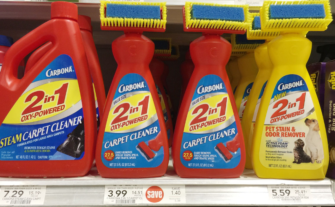 ... carbona carpet cleaner only 1 24 at publix the krazy lady ...